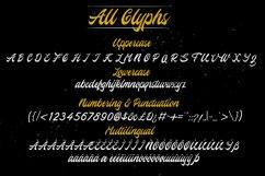 Hovercity script font Product Image 2