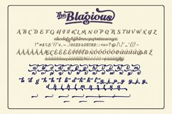 The Blagious Bold Script Product Image 6