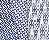 Navy Blue Digital Paper Japanese Background Patterns Product Image 3