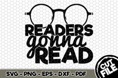 Readers Gonna Read - SVG Cut File n206 Product Image 1