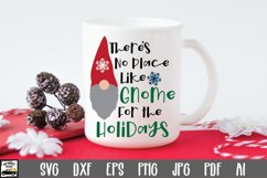 There's No Place Like Gnome for the Holidays SVG Cut File Product Image 1