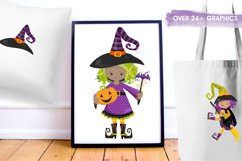 Little Witches graphics and illustrations Product Image 5
