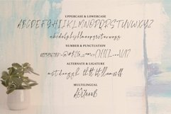 Web Font Little Smooth - A Handwritten Signature Font Product Image 5