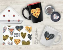 Valentine Love Patterns and Cliparts Product Image 6