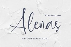 Alenas Font Product Image 1