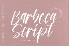 Barbeca Script Product Image 1