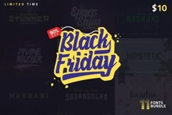 1 Fonts less than $1! Black Friday Product Image 1