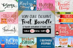 Very Cute Exclusive Handwritten Font Bundle / Limited Time Product Image 1