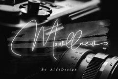 Mowllnew // Signature Font - WEB FONT Product Image 1