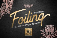 Vector Foiling Illustrator Effect Product Image 1