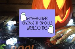 Halloween SVG Bundle, Halloween Porch Sign SVG Product Image 2