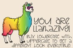 Stinky Llama - A Quirky Hand-Written Font Product Image 3
