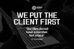 Nordhead Business & Corporate Font Product Image 5
