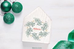 Christmas Wreath SVG graphic, Christmas ornament SVG file Product Image 4