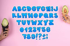 Kids font / handmade font / children's color font. Product Image 4