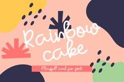 Rainbow Cake Product Image 1