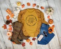 S'mores Hayrides Pumpkins Bonfires Sweaters - Fall SVG Product Image 2