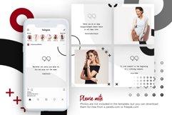 Fashion Minimalist Instagram Puzzle Preset for Canva Product Image 5