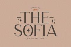 Web Font The Sofia Product Image 1