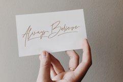Rindu Alam - Signature Script Font Product Image 2