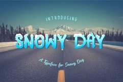 SNOWY DAY Product Image 1