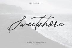 Sweetshore Casual Script Font Product Image 1