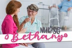Stethoscope Script - A Nurse Font Product Image 5