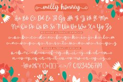 Web Font - Melly Honney Product Image 4