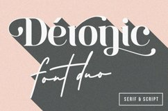 Deronic Font Duo Product Image 1