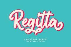 Regitta - Playful Script Product Image 1
