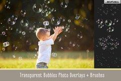 Transparent Bubble overlays  brushes  styles Product Image 1