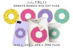 DONUT BUNDLE SVG Cut Files Product Image 1