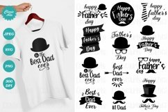 Father's Day SVG, Father's Day T-shirts, Sublimation Designs Product Image 1