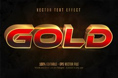 Shiny gold style text effect Product Image 1