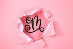 Swirly Monogram Font - Swirly Initials Product Image 2
