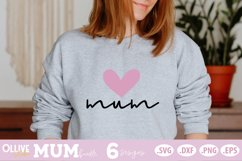 Mother's Day SVG Bundle | Mum SVG Bundle Product Image 3