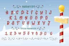 Bright Lights // A Merry Christmas Font Product Image 6
