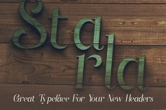 Starla - Display Font Product Image 4