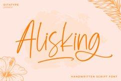 Alisking-Handwritten Font Product Image 1