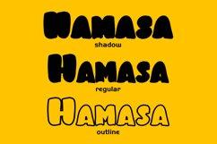 Hamasa Fun Display Font Product Image 2