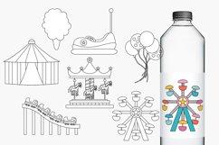 Carnival Amusement Park Rides Illustrations Product Image 2