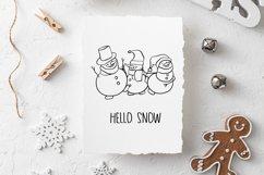 Snowman SVG Product Image 2