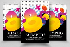 Abstract Memphis Flyer Template Product Image 1