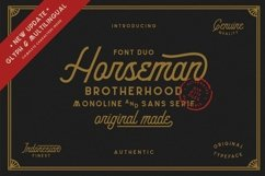 Horseman-New Update Glyph and Multilingual Product Image 1