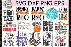 Huge Halloween Bundle of 50 SVG DXF PNG EPS Cutting Files Product Image 4