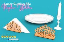 Napkin Holder - laser cutting file Product Image 1