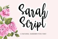 Sarah Script Product Image 1