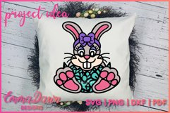 BELLA THE EASTER BUNNY SVG, MANDALA ZENTANGLE 2 DESIGNS Product Image 5