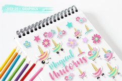 Unicorn faces graphics and illustrations Product Image 5
