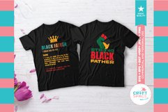 Black Fathers Matter Bundle, SVG, EPS, PNG and More Product Image 4